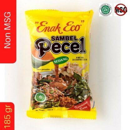 Bumbu PECEL Sambal PECEL ENAK ECO 185 gr Sambel PECEL PEDAS Sedang