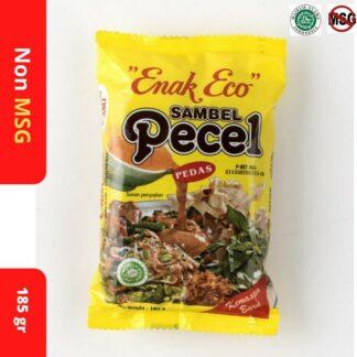Bumbu PECEL Sambal PECEL ENAK ECO 185 gr Sambel PECEL PEDAS