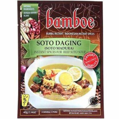 Bumbu Instan Bamboe Soto Daging